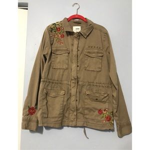 Sonoma Goods for Life Embroidered Utility Jacket